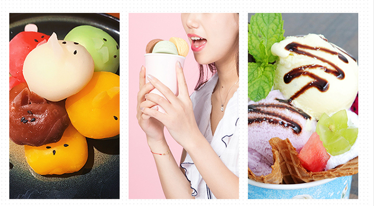 1L Automatic and Intelligent Mini Ice Cream Maker for Household to Prepare Delicious Ice Cream and Sorbet 8