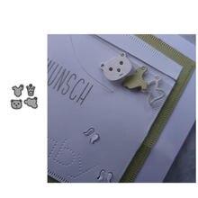 Металлические Вырубные штампы jc bear одежда облако сделай сам