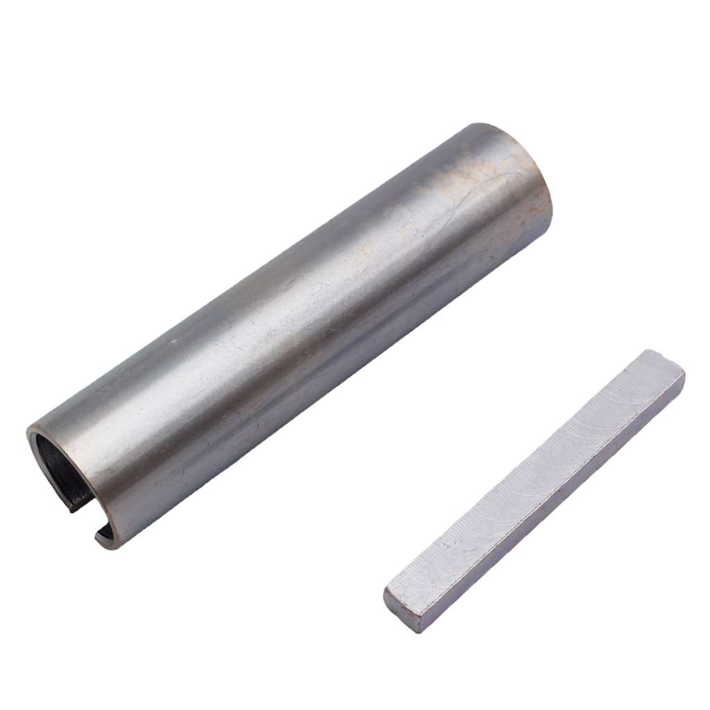 Stainless Steel 5//8 To 3//4 Inch Shaft Adapter Sleeve Tool With Key Pulley