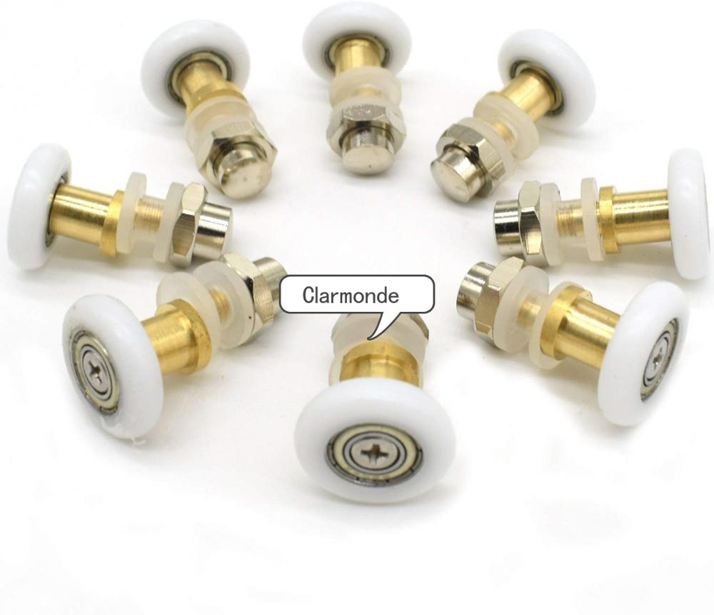 2pcs/4pcs/8pcs/ Partiality Shower Door ROLLERS /Runners/Wheels/Pulleys Diameter 25 Mm