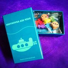 Приключенческая настольная игра Интерактивная детская прочная персональная развивающая мышление подводная забавная игрушка английская версия