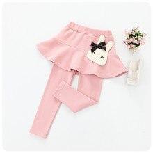 Skirt Pants Girls Baby Princess Pure-Cotton Autumn New-Style Super-Soft