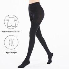 CI 0002 2 # Pressão Profissional Pernas Collants Shaper Shapewear