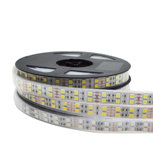 5050 SMD 120LED RGB 5M LED Strip Light 12V Waterproof Ribbon Diode Tape Lamp Flexible Home Decoration Lighting RGB/White