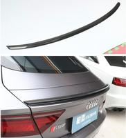 High Qualit CARBON FIBER & ABS REAR WING TRUNK LIP SPOILER FOR AUDI A7 S7 RS7 20112012 2013 2014 2015 2016 2017 2018 2STYLE