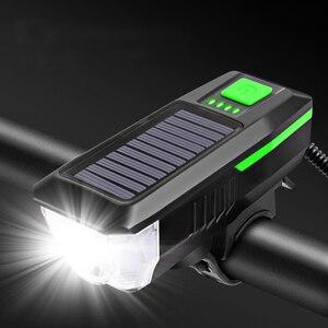Solar Power Bike Light Waterpr