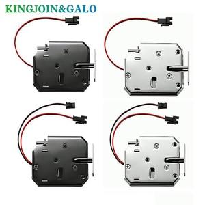 Image 2 - OEM electromagnetic lock DC 12V1.5A supermarket intelligent locker electronic lock access control electric lock mailbox lock