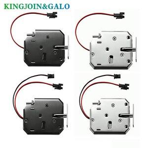 Image 2 - Oem電磁ロックdc 12V1.5Aスーパーマーケットインテリジェントロッカー電子ロックアクセス制御電気錠メールボックスロック
