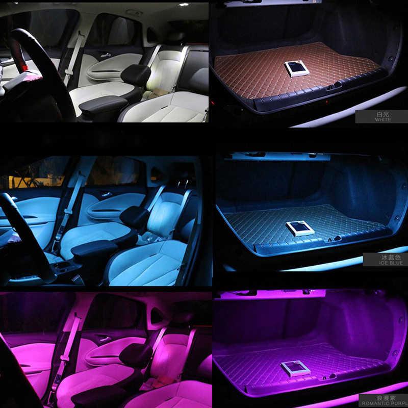 8 шт. белый автомобиль Светодиодный лампочки внутренняя Карта Купол Лицензия Плиты Набор светодиодных ламп комплект для Mazda 3 2004 2005 2006 2007 2008 2009