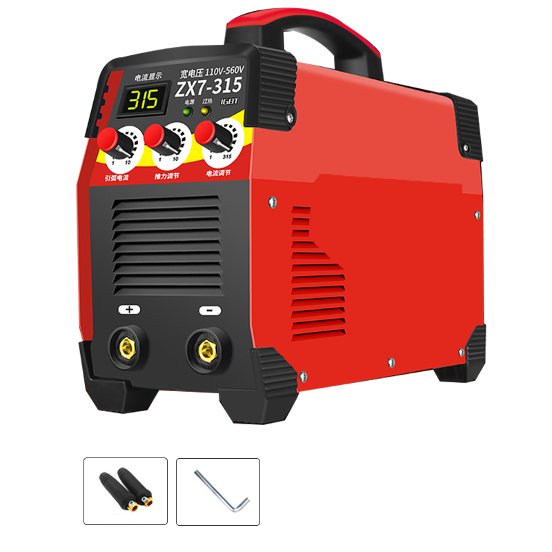 110V-560V 9 5KW 11 5KW ZX7-250 ZX7-315 Arc Force Electric Welding Machine Mini Pro LCD Digital Display MMA IGBT Inverter Welders