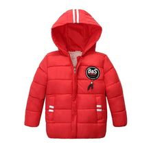 цена Baby Boy Clothes Autumn Winter Jacket For Boys Coat Kids Warm Hoodie Outerwear Coat For Girl Jacket Coat Children Clothing онлайн в 2017 году