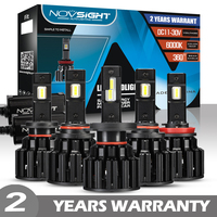 NOVSIGHT H4 LED Lamp H7 LED H11 H8 H9 9005 HB3 HB4 9006 Car Headlight Bulbs 100W 20000LM 12V 6000K Car Auto Headlamp Fog Light