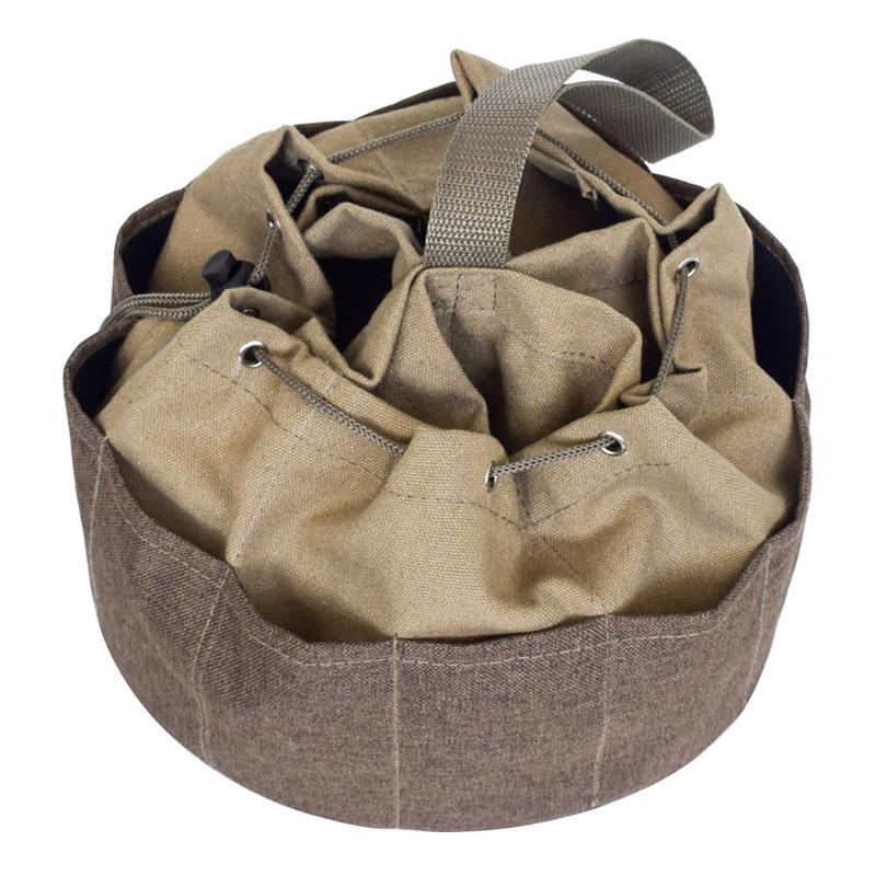 Multi-Purpose Canvas Kit Water And Electricity Maintenance Repair Kit Garden Hardware Tool Bag