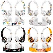 High Fashion headphone Protective Decal Skin-kit for solo 2 3 wireless headphone