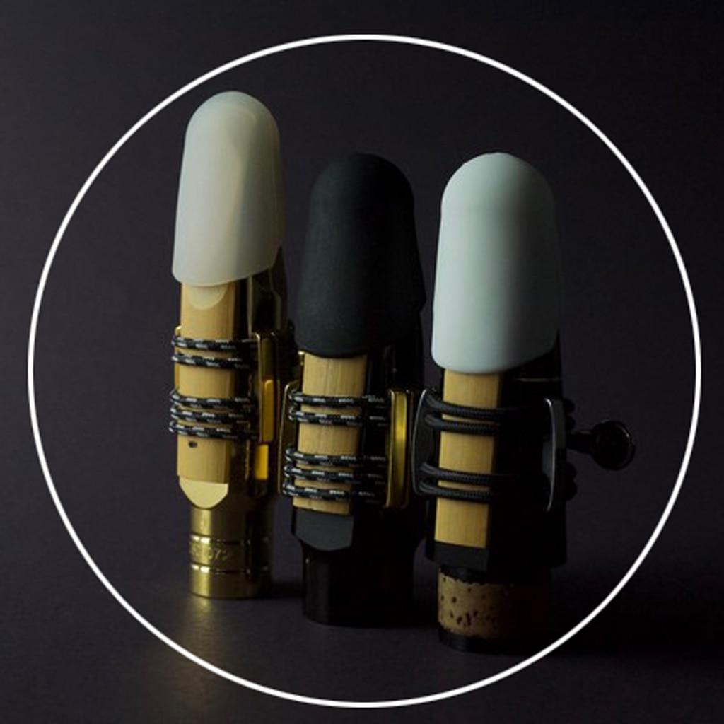 Saxophone Mouthpiece Cap Buckle Patches Pads Cap For Baritone Sax Parts