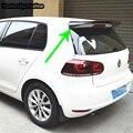 Golf 6 MK6 модифицированный REVOZPORT Стиль углеродного волокна задний спойлер на крышу автомобиля крыло для Volkswagen Golf 6 2008 2009 2010 2011 2012
