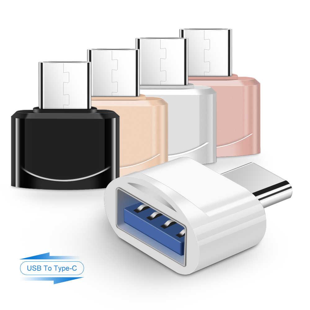 USB 3.0 タイプ C OTG ケーブルアダプタタイプ C USB-C Otg 変換 Xiaomi Mi5 Mi6 Huawei 社サムスン S10 マウスキーボード USB ディスクフラッシュ