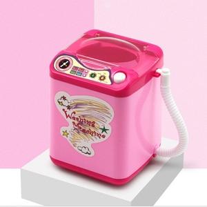 2020 Newest Sponge Makeup Brushes Cleaner Toy Wash Housekeeping Toys Hot Mini Electric Washing Machine Cosmetic