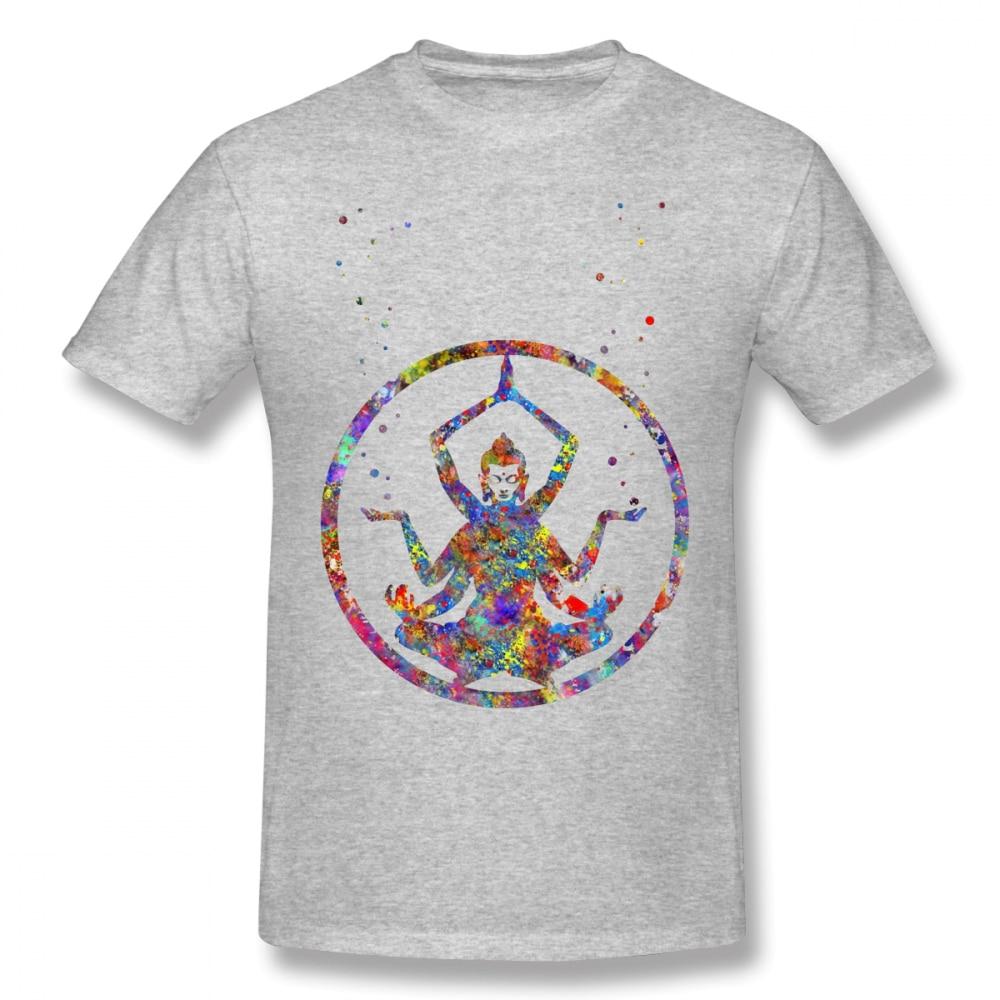Shiva T Shirt Shiva Watercolor Shiva Lord Art T Shirt Printed Casual Tee Shirt Mens Cute 5x Cotton Short Sleeves Tshirt in T Shirts from Men 39 s Clothing
