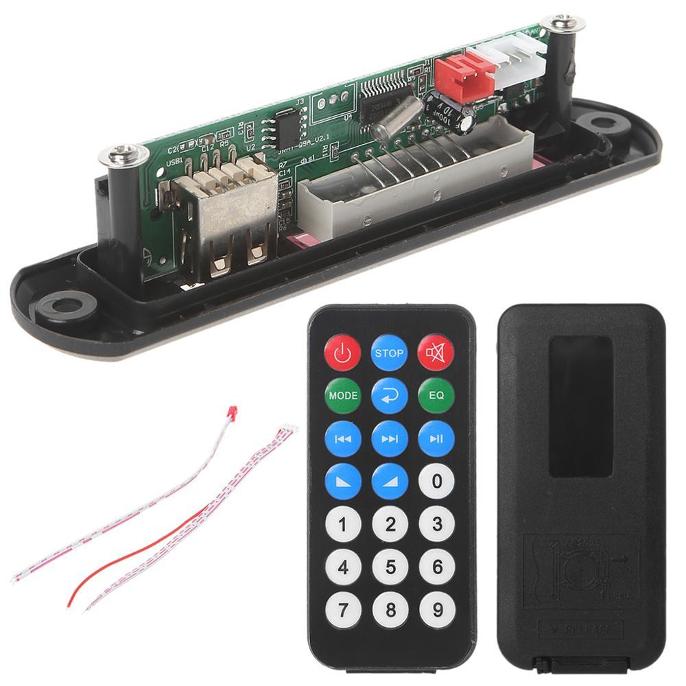 Micro USB Power TF Radio MP3 Decoder Audio Board For Car Remote Music Speaker