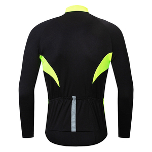 Image 2 - WOSAWE Mens Autumn Winter Cycling Jersey Long Sleeve Sun protective Road Bike Tops MTB Jersey Bicycle Clothing Hombre Wear