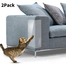 2 pçs pet cat scratch guard esteira gato arranhando pós móveis sofá protetor casa à prova de riscos acessórios para animais de estimação venda quente