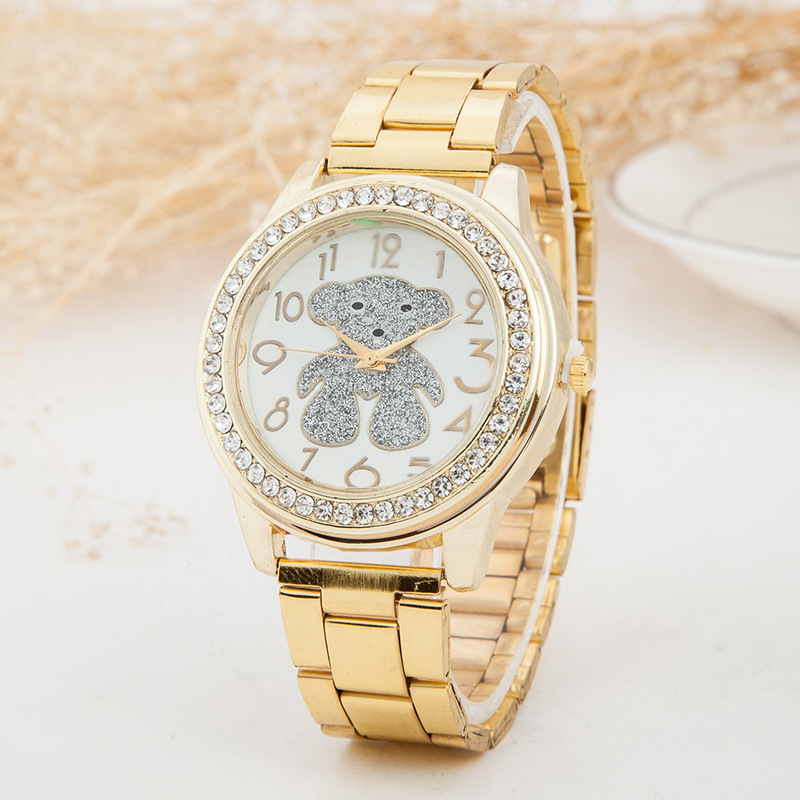 Diamond Watch Animal Women Watches Geneva Classic Women's Gold Wrist Watch Ladies Dress Clock Relogio Masculino Reloj Mujer
