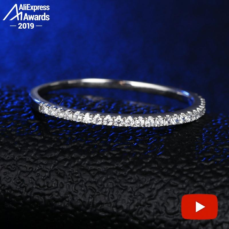 Round Cut NOT FAKE S925 Sterling Silver Ring SONA Diamond Halo Fine Ring Unique Style Love Wedding Engagement