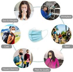 10/20/30/50pcs 3 Ply Face Mask Disposable Protective Safety Masks Anti-Dust Mask Anti Pollution Non-Woven Mouth Mask N95 Mask 5