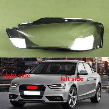 цены Headlights Shell Headlamp Cover Headlight Glass Lampshade Shell Transparent Lampshade For Audi A4 A4L B9 2012 2013 2014 2015
