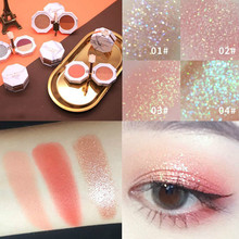 Double fold marble eye shadow Makeup box recommended beauty tray