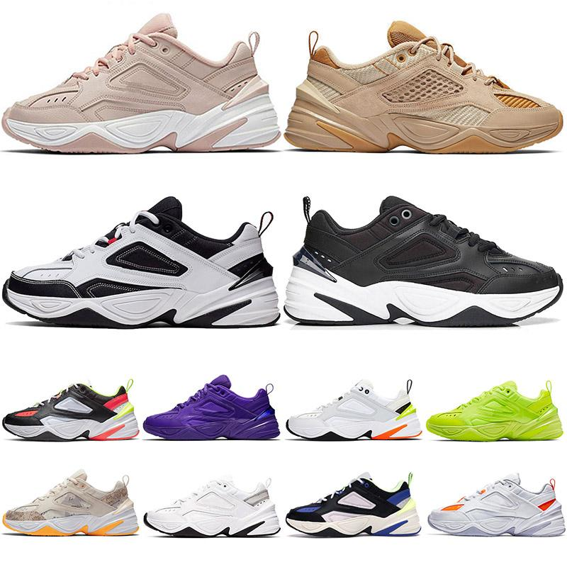 2020New Arrivals M2k Tekno Running Shoes For Womens Sneakers Beige Black All White Camo Trainers Men Women Designer Shoe