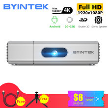 BYINTEK U50 Pro 1920*1080P Full HD Mini 3D 4K Android intelligent Wifi Portable lAsEr LED projecteur DLP Proyector pour Smartphone(China)