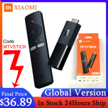 Xiaomi Mi TV Stick Global Version Android TV 9.0 2K HDR Quad Core HDMI 1GB RAM 8GB ROM Bluetooth Wifi 5 Netflix Google Assistant