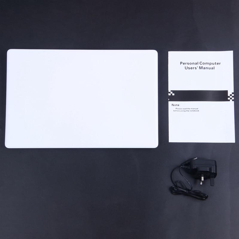 14.1 inch Hd Lightweight and Ultra-Thin 2+32G Lapbook Laptop  Z8350 64-Bit Quad Core 1.92Ghz Windows 10 2Mp Camera(White) U-3