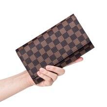 Womens  wallet 2019 autumn new unisex long fashion print coin purse clutch bag multi-card card package men