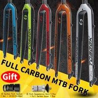 Toseek Ultralight Mtb Carbongabel 26 /27,5/29er Konische Mountainbike Carbon Fork Accessories Bicycle Mtb Fork