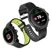 L5 스마트 시계 남성 ip68 방수 다중 스포츠 모드 심박수 일기 예보 블루투스 smartwatch 대기 100 일