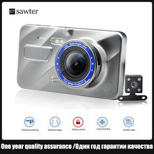 4 inch touch driving recorder HD 1080P night vision dash cam Car DVR 170 ° large wide angle double lens picture-in-picture display(China)