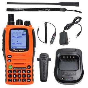Image 5 - 10W Wouxun KG UV9D Companheiro 7 Banda Incluindo AirBand 3200mAh Walkie Talkie Rádio Amador amador de banda Repetidor Cruz Atualização KG UV9D Plus