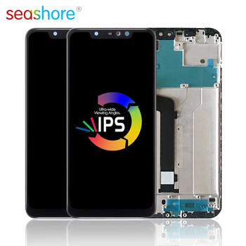 ORIGINAL For XIAOMI Redmi Note 6 Pro LCD Touch Screen Digitizer Assembly For Xiaomi Redmi Note 6 Display with Frame Replacement 4 6original for sony xperia z3 compact lcd touch screen digitizer assembly for sony z3 mini display with frame replacement z3c