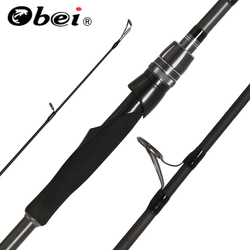 Obei Spurs 1.68cm1.98m 2.28m 2.43m 2.58m 3 Section Spinning Fishing Rod Travel Ultra Light Spinning Boat Lure 7g-55g M/ML/MH Rod