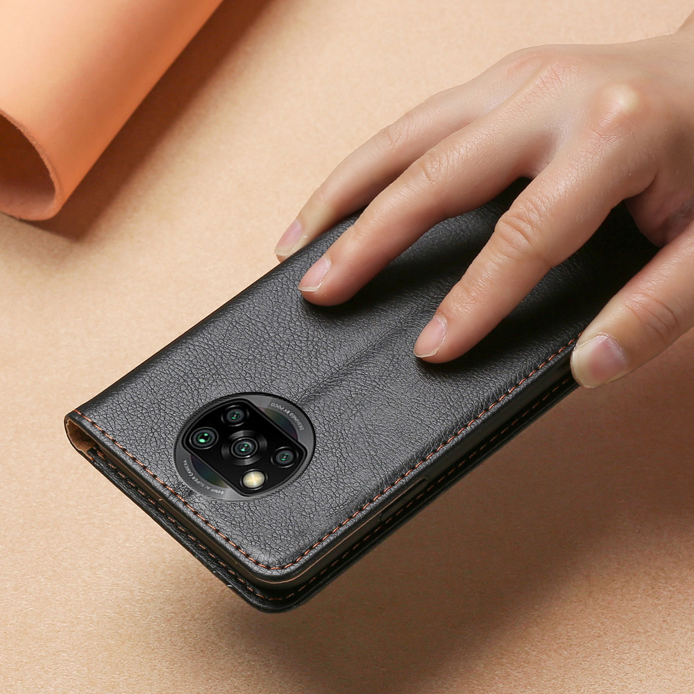 Магнитный чехол для Xiaomi Poco X3 NFC, кожаный силиконовый чехол Poco X3 NFC, 6,67 дюймов, флип Кошелек, Чехол для карт M2007J20CG|Чехлы-книжки|   | АлиЭкспресс