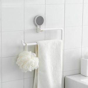 Image 4 - Kitchen Paper Holder Sticke Rack Roll Holder for Bathroom Towel Rack Estanterias Pared Decoracion Tissue Shelf Organizer