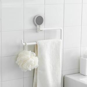Image 4 - キッチンペーパーホルダーstickeラックロールホルダー浴室タオルラックestanterias比べdecoracion組織棚オーガナイザー