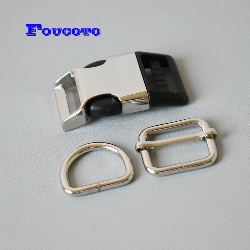 10 or 20 D Ring Buckle for 10,15,20,25,30mm Webbing Buckle fastener adjuster