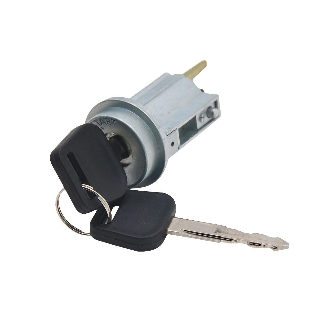 Cilindro & chaves do fechamento do interruptor de ignição do metal do fechamento do cilindro da ignição 69057-35070 características estáveis confiança alta prático