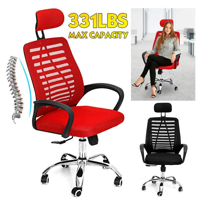 Office Chair Swivel Gaming Chair Adjustable Height Rotating Lift Chair Ergonomic Desk Computer Chair Armchair Recliner Home 4