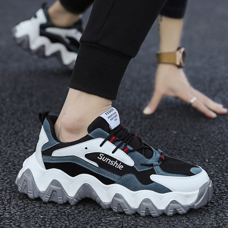 Spring New Arrival Fashion Sneakers Men Classics Casual Young Man Street Shoes Men's Leisure Shoes Male Footwears The Wave Shoes