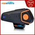Fodsports BT S2 Intercom Motorrad Helm Bluetooth Headset Wasserdicht Rauschunterdrückung Lautsprecher FM Radio BT-S2 Intercomunicador Moto 1000M
